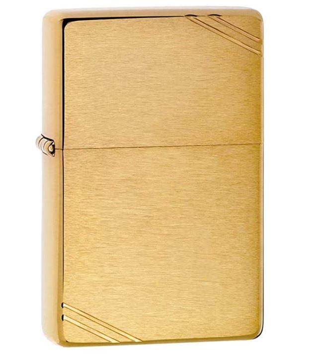 gold zippo lighter